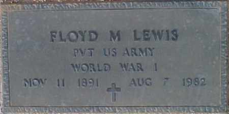 LEWIS, FLOYD M. - Maricopa County, Arizona | FLOYD M. LEWIS - Arizona Gravestone Photos