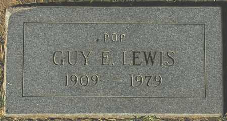 LEWIS, GUY E. - Maricopa County, Arizona   GUY E. LEWIS - Arizona Gravestone Photos