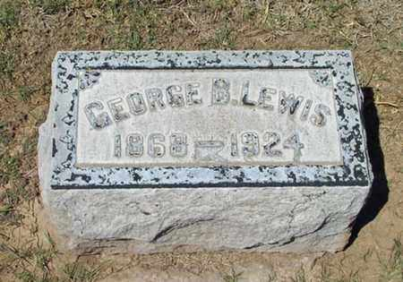 LEWIS, GEORGE B. - Maricopa County, Arizona | GEORGE B. LEWIS - Arizona Gravestone Photos