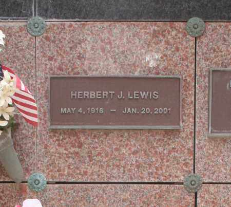 LEWIS, HERBERT J. - Maricopa County, Arizona | HERBERT J. LEWIS - Arizona Gravestone Photos