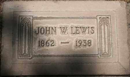 LEWIS, JOHN W - Maricopa County, Arizona | JOHN W LEWIS - Arizona Gravestone Photos