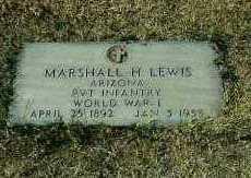 LEWIS, MARSHALL H. - Maricopa County, Arizona | MARSHALL H. LEWIS - Arizona Gravestone Photos
