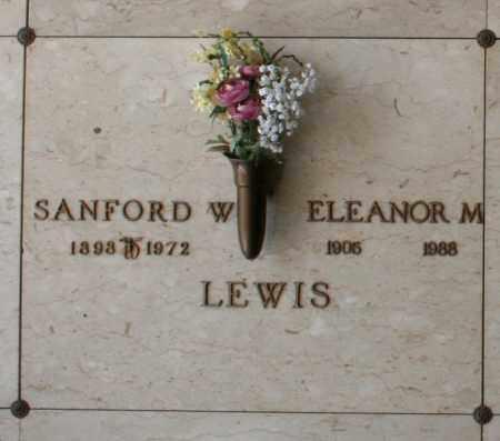 LEWIS, SANFORD W. - Maricopa County, Arizona | SANFORD W. LEWIS - Arizona Gravestone Photos