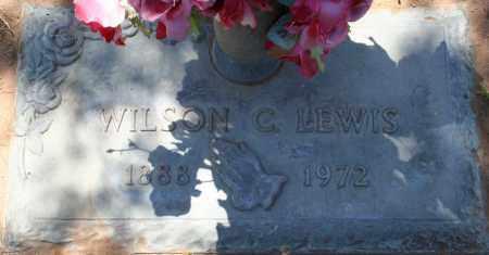 LEWIS, WILSON C. - Maricopa County, Arizona | WILSON C. LEWIS - Arizona Gravestone Photos