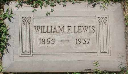 LEWIS, WILLIAM F. - Maricopa County, Arizona | WILLIAM F. LEWIS - Arizona Gravestone Photos