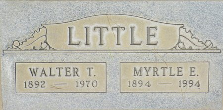 LITTLE, MYRTLE E - Maricopa County, Arizona | MYRTLE E LITTLE - Arizona Gravestone Photos