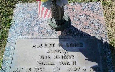 LONG, ALBERT H. - Maricopa County, Arizona | ALBERT H. LONG - Arizona Gravestone Photos