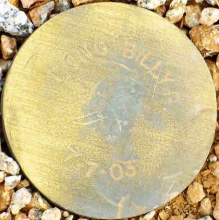 LONG, BILLY R. - Maricopa County, Arizona | BILLY R. LONG - Arizona Gravestone Photos