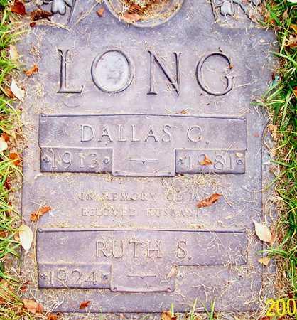 LONG, DALLAS G. - Maricopa County, Arizona | DALLAS G. LONG - Arizona Gravestone Photos