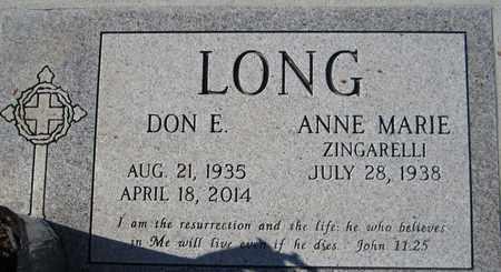 LONG, DON E. - Maricopa County, Arizona | DON E. LONG - Arizona Gravestone Photos