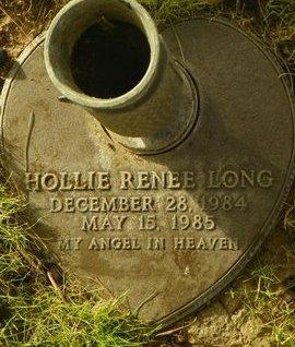 LONG, HOLLIE RENEE - Maricopa County, Arizona | HOLLIE RENEE LONG - Arizona Gravestone Photos