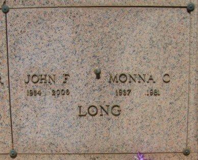 LONG, MONNA CLARE - Maricopa County, Arizona | MONNA CLARE LONG - Arizona Gravestone Photos