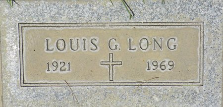 LONG, LOUIS G - Maricopa County, Arizona | LOUIS G LONG - Arizona Gravestone Photos