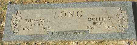 LONG, MOLLIE V. - Maricopa County, Arizona | MOLLIE V. LONG - Arizona Gravestone Photos