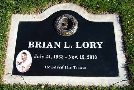 LORY, BRIAN L. - Maricopa County, Arizona | BRIAN L. LORY - Arizona Gravestone Photos