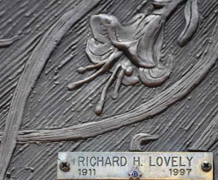 LOVELY, RICHARD H. - Maricopa County, Arizona | RICHARD H. LOVELY - Arizona Gravestone Photos