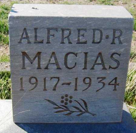 MACIAS, ALFRED R. - Maricopa County, Arizona | ALFRED R. MACIAS - Arizona Gravestone Photos