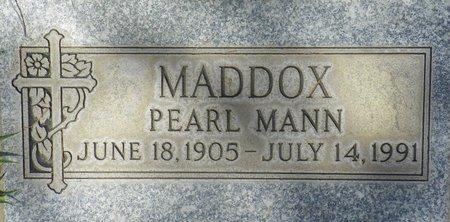 MADDOX, PEARL MANN - Maricopa County, Arizona | PEARL MANN MADDOX - Arizona Gravestone Photos