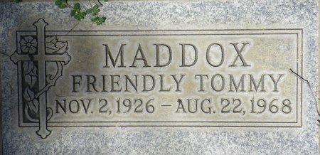 MADDOX, TOMMY - Maricopa County, Arizona | TOMMY MADDOX - Arizona Gravestone Photos