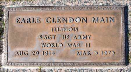 MAIN, EARLE CLENDON - Maricopa County, Arizona | EARLE CLENDON MAIN - Arizona Gravestone Photos