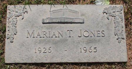 JONES, MARIAN - Maricopa County, Arizona | MARIAN JONES - Arizona Gravestone Photos