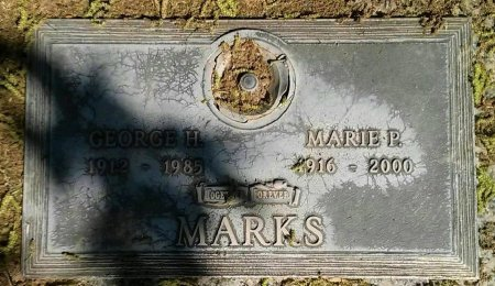 MARKS, GEORGE H. - Maricopa County, Arizona | GEORGE H. MARKS - Arizona Gravestone Photos