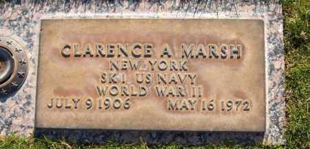 MARSH, CLARENCE A. - Maricopa County, Arizona | CLARENCE A. MARSH - Arizona Gravestone Photos