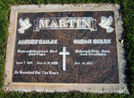 MARTIN, ALBERT BAILEY - Maricopa County, Arizona | ALBERT BAILEY MARTIN - Arizona Gravestone Photos