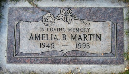 MARTIN, AMELIA B. - Maricopa County, Arizona | AMELIA B. MARTIN - Arizona Gravestone Photos