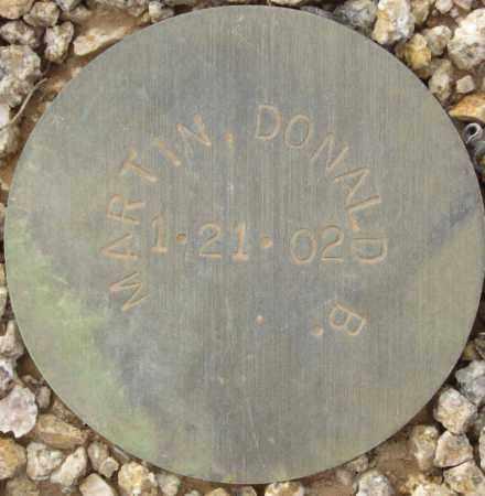 MARTIN, DONALD B. - Maricopa County, Arizona | DONALD B. MARTIN - Arizona Gravestone Photos