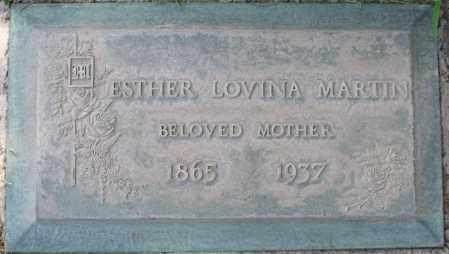 MARTIN, ESTHER LOVINA - Maricopa County, Arizona | ESTHER LOVINA MARTIN - Arizona Gravestone Photos