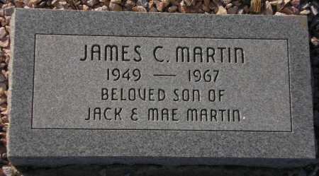 MARTIN, JAMES C. - Maricopa County, Arizona | JAMES C. MARTIN - Arizona Gravestone Photos