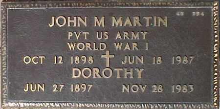 MARTIN, DOROTHY - Maricopa County, Arizona   DOROTHY MARTIN - Arizona Gravestone Photos