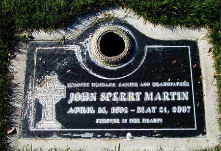MARTIN, JOHN SPERRY - Maricopa County, Arizona   JOHN SPERRY MARTIN - Arizona Gravestone Photos