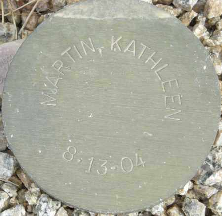 MARTIN, KATHLEEN - Maricopa County, Arizona | KATHLEEN MARTIN - Arizona Gravestone Photos
