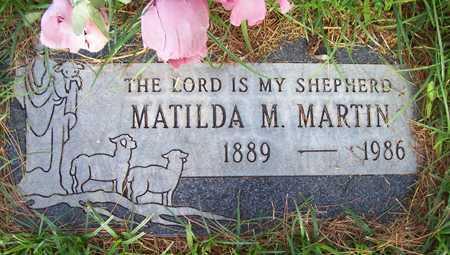 MARTIN, MATILDA M. - Maricopa County, Arizona | MATILDA M. MARTIN - Arizona Gravestone Photos