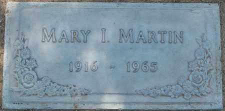 MARTIN, MARY I. - Maricopa County, Arizona | MARY I. MARTIN - Arizona Gravestone Photos