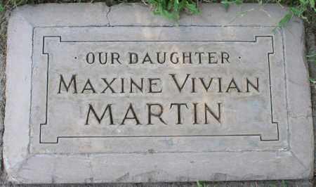 MARTIN, MAXINE VIVIAN - Maricopa County, Arizona | MAXINE VIVIAN MARTIN - Arizona Gravestone Photos