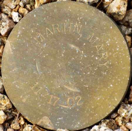 MARTIN, MARY - Maricopa County, Arizona | MARY MARTIN - Arizona Gravestone Photos