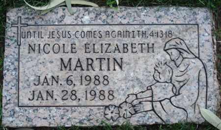 MARTIN, NICOLE ELIZABETH - Maricopa County, Arizona   NICOLE ELIZABETH MARTIN - Arizona Gravestone Photos