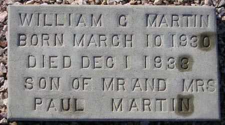 MARTIN, WILLIAM G. - Maricopa County, Arizona   WILLIAM G. MARTIN - Arizona Gravestone Photos
