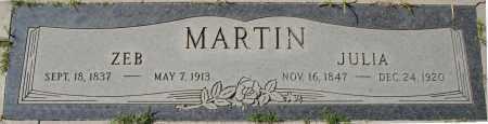 MARTIN, ZEB - Maricopa County, Arizona | ZEB MARTIN - Arizona Gravestone Photos