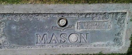 MASON, RICHARD - Maricopa County, Arizona | RICHARD MASON - Arizona Gravestone Photos