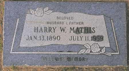 MATHIS, HARRY W. - Maricopa County, Arizona | HARRY W. MATHIS - Arizona Gravestone Photos