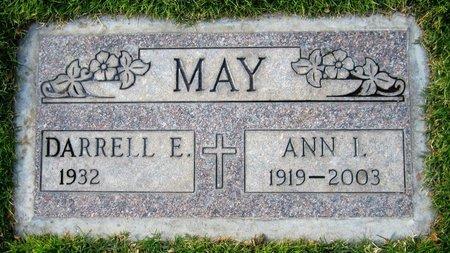 MAY, ANN I - Maricopa County, Arizona | ANN I MAY - Arizona Gravestone Photos