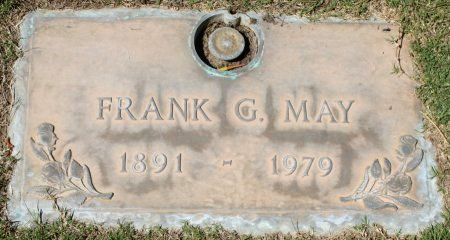MAY, FRANK G - Maricopa County, Arizona | FRANK G MAY - Arizona Gravestone Photos