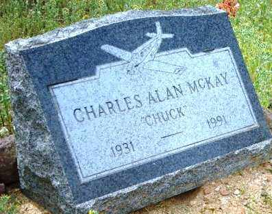 MCKAY, CHARLES ALAN (CHUCK) - Maricopa County, Arizona   CHARLES ALAN (CHUCK) MCKAY - Arizona Gravestone Photos