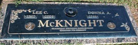 MCKNIGHT, DONNA A - Maricopa County, Arizona | DONNA A MCKNIGHT - Arizona Gravestone Photos
