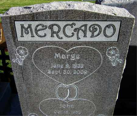MERCADO, MARGE - Maricopa County, Arizona | MARGE MERCADO - Arizona Gravestone Photos