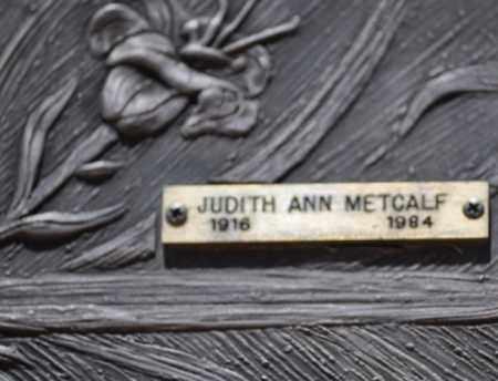 METCALF, JUDITH ANN - Maricopa County, Arizona | JUDITH ANN METCALF - Arizona Gravestone Photos